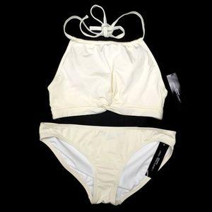 Carmen Marc Valvo Halter Bikini 2 pc Swimsuit NWT